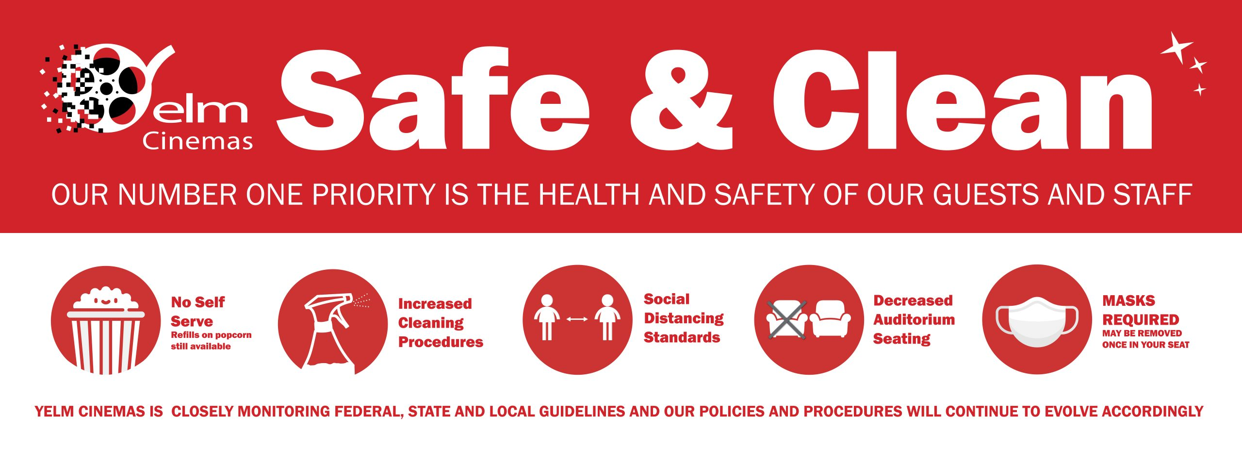 YC Safe and Clean Banner